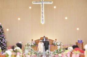 Pemberkatan Pernikahan HKBP Cijantung (10)