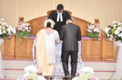 Pemberkatan Pernikahan HKBP Cijantung (14)
