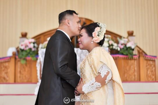Pemberkatan Pernikahan HKBP Cijantung (19)