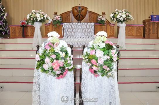 Pemberkatan Pernikahan HKBP Cijantung (3)