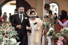 Pemberkatan Pernikahan HKBP Cijantung (4)