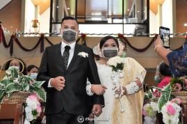 Pemberkatan Pernikahan HKBP Cijantung (7)